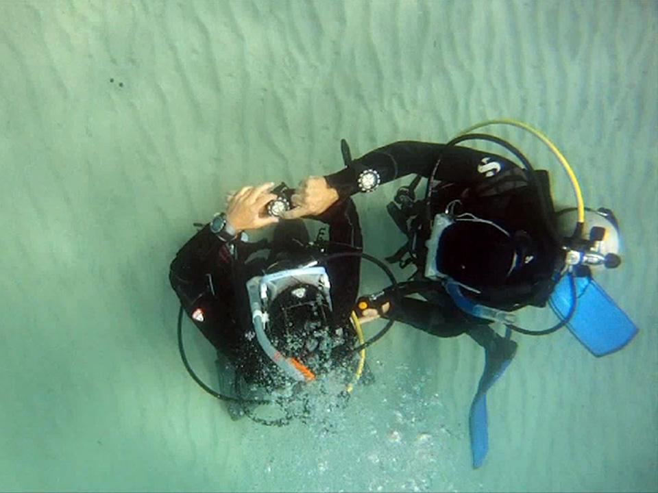 Podwodna nawigacja