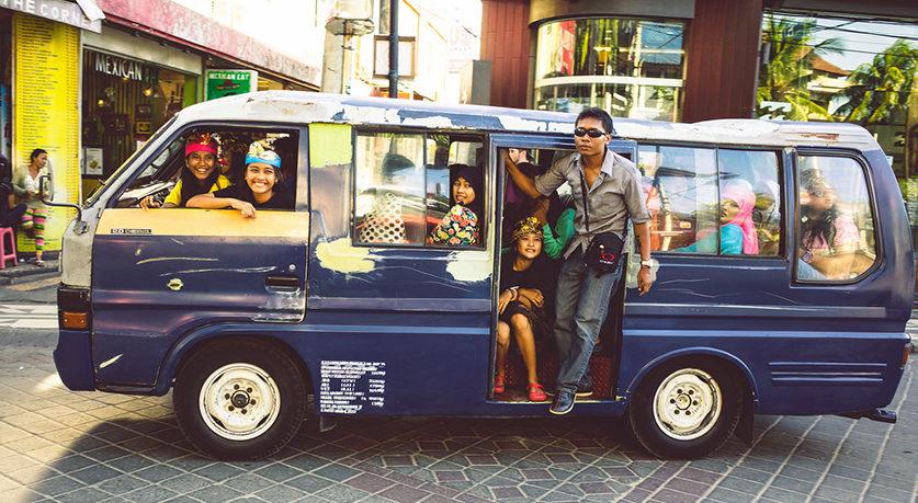 Transport na Bali