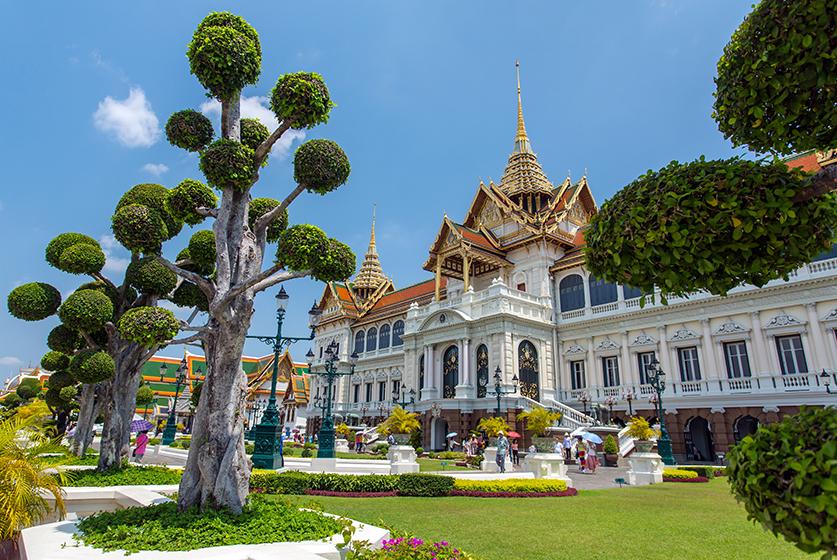 Kontrasty Bangkoku