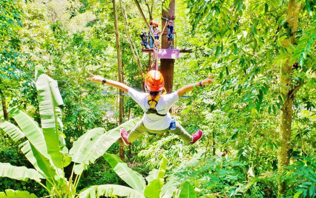 Park Linowy Hanuman